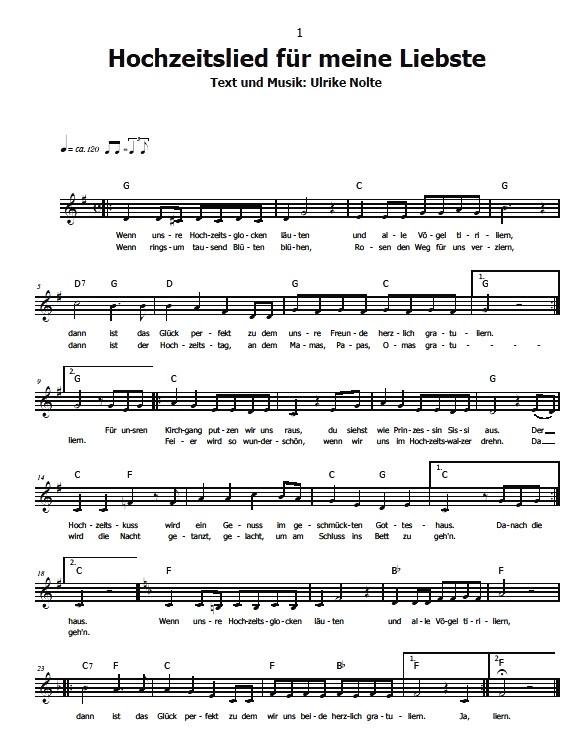 Goldene Hochzeit Lieder Texte