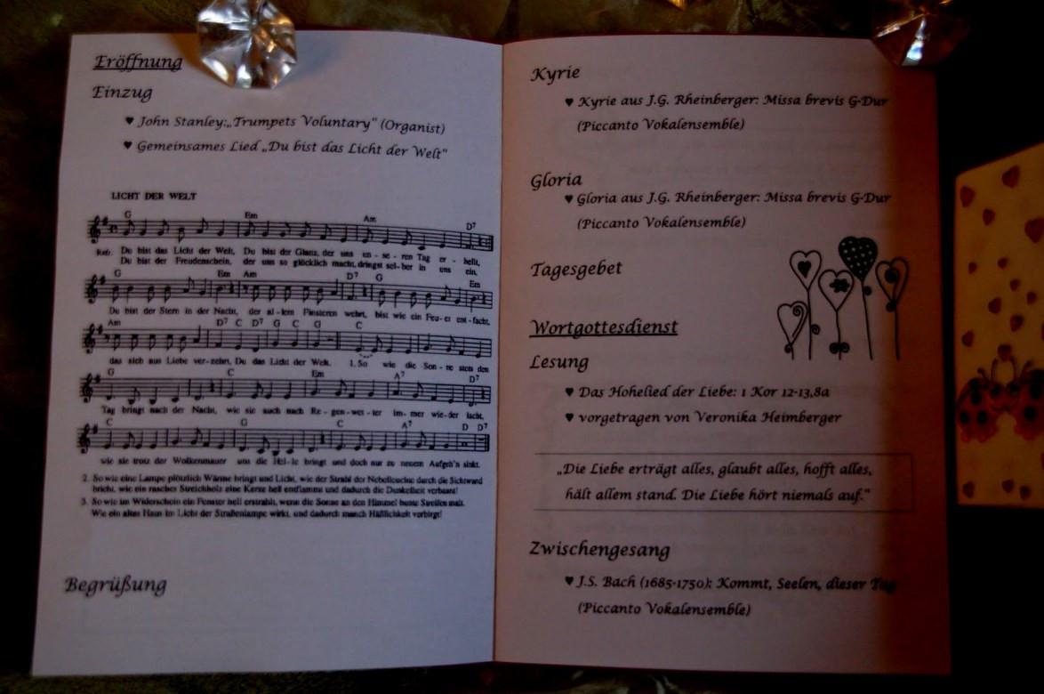 Lieder Zur Hochzeit Kirche  Lieder Zur Hochzeit Kirche Die Schönsten Für Trauung