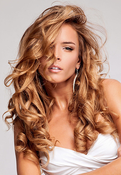 Lockige Haare Frisuren  Lange lockige Haare