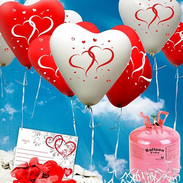 die besten ideen f r luftballons hochzeit helium beste. Black Bedroom Furniture Sets. Home Design Ideas