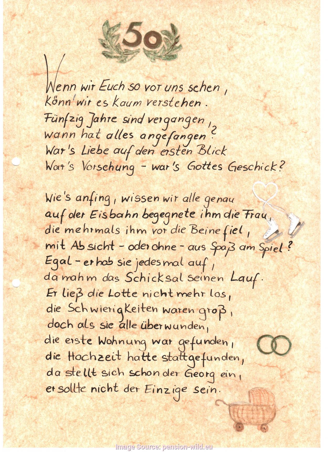 Die Besten Lustige Gedichte Zur Goldenen Hochzeit - Beste ...