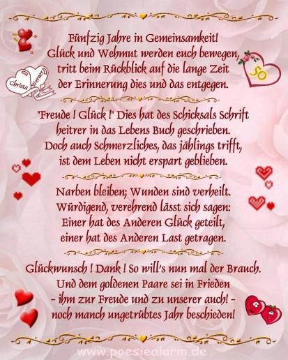 Die Besten Lustige Gedichte Zur Goldenen Hochzeit - Beste