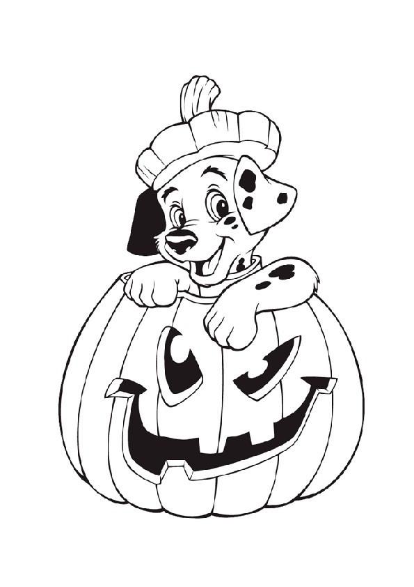 Malvorlagen Halloween  Ausmalbilder kostenlos niedliche Ausmalbilder fr Halloween