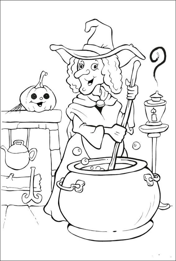 Malvorlagen Halloween  Ausmalbilder Halloween 24