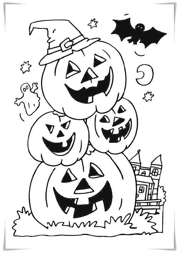 Malvorlagen Halloween  AUSMALBILDER HALLOWEEN Malvorlagen zeichnen