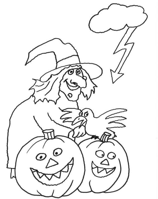 Malvorlagen Halloween  Kostenlose Ausmalbilder und Malvorlagen Halloween zum