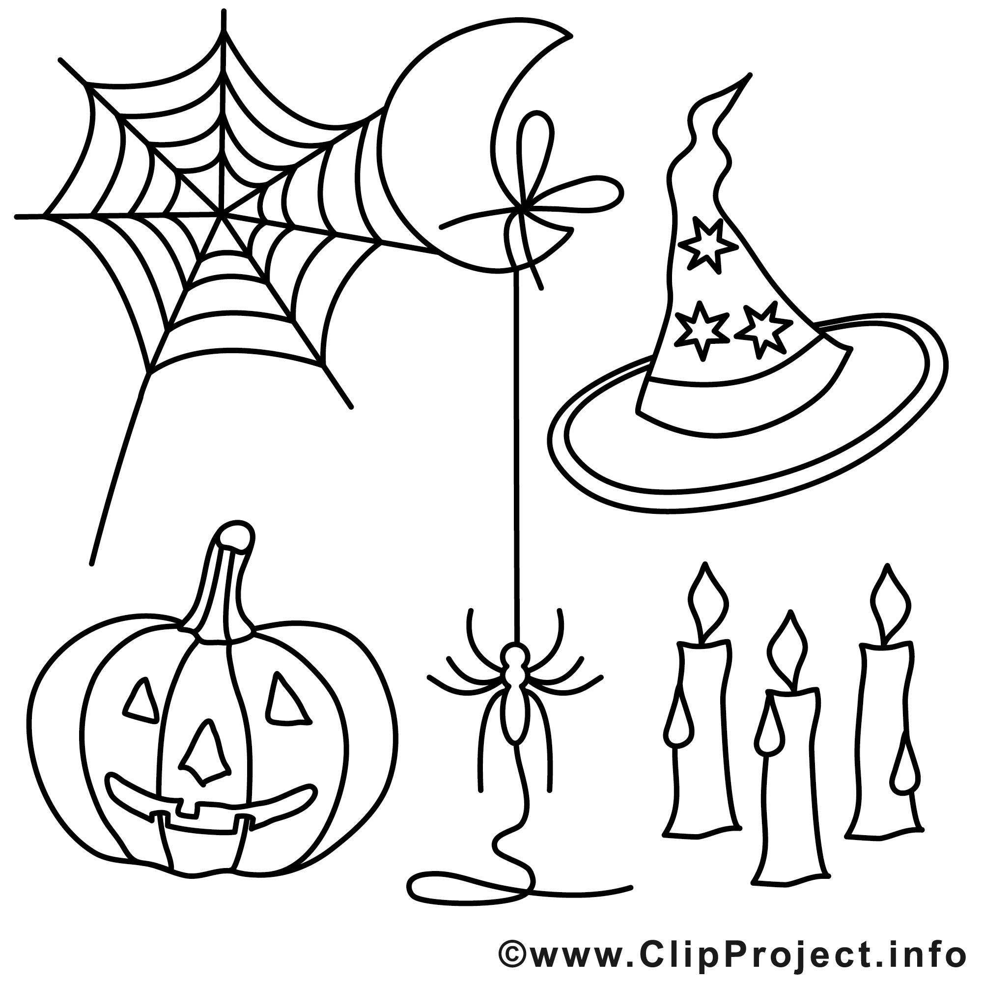 Malvorlagen Halloween  Kostenlose Halloween Malvorlagen
