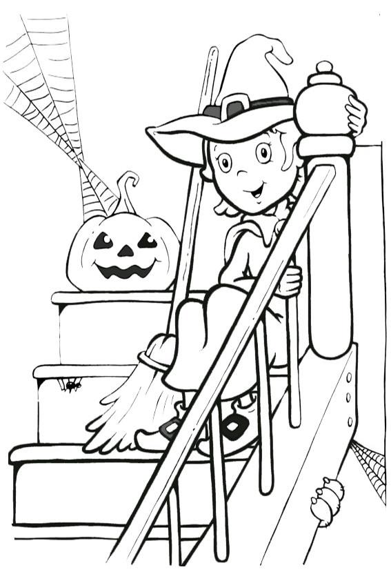 Malvorlagen Halloween  malvorlagen kostenlos halloween 4