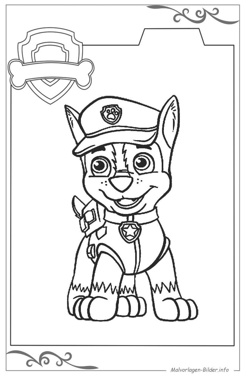 Malvorlagen Paw Patrol  Paw Patrol malvorlagen und ausmalbilder für kinder
