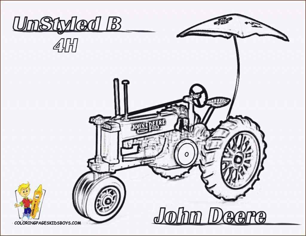 die besten malvorlagen traktor john deere - beste