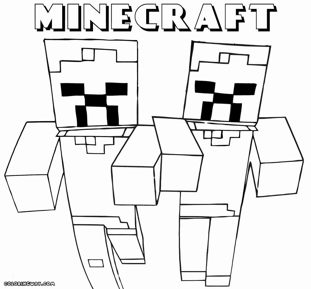 Die Besten Minecraft Ausmalbilder Enderman Beste Wohnkultur