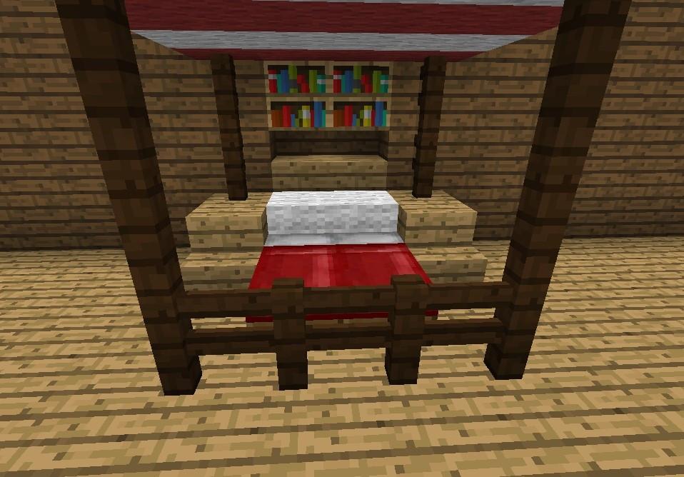 Minecraft Bett Bauen  Minecraft Bett Bauen Anleitung – eyesopen