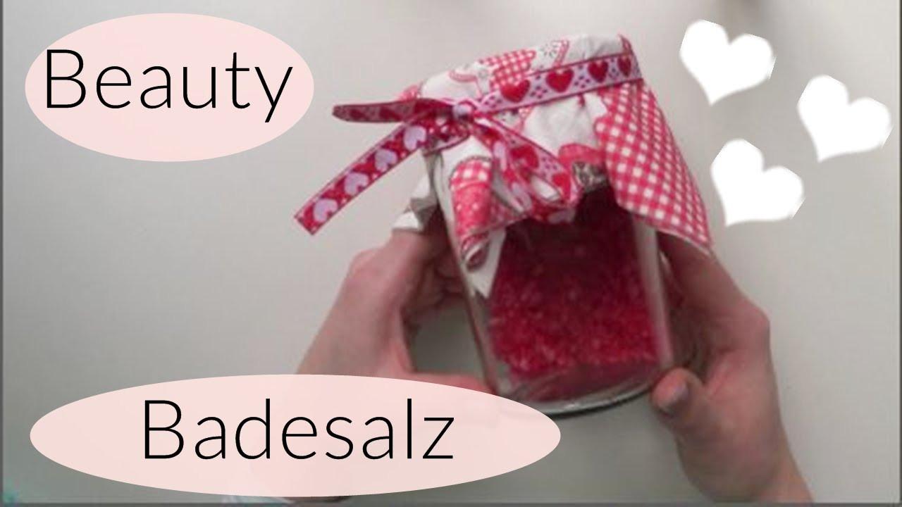 Muttertag Diy  DIY Beauty Badesalz I Last Minute I Muttertag I