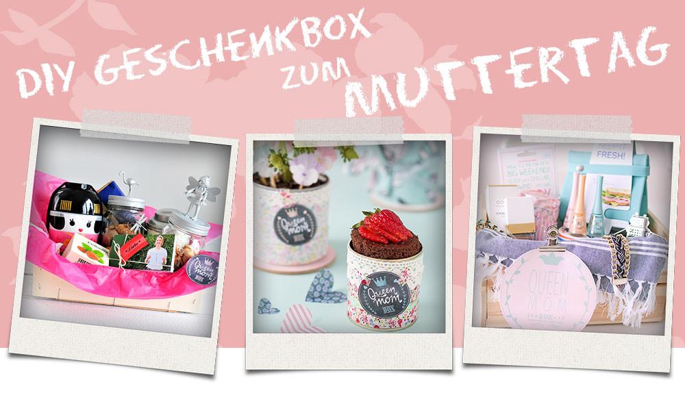 Muttertag Diy  Muttertag DIY last minute Geschenke
