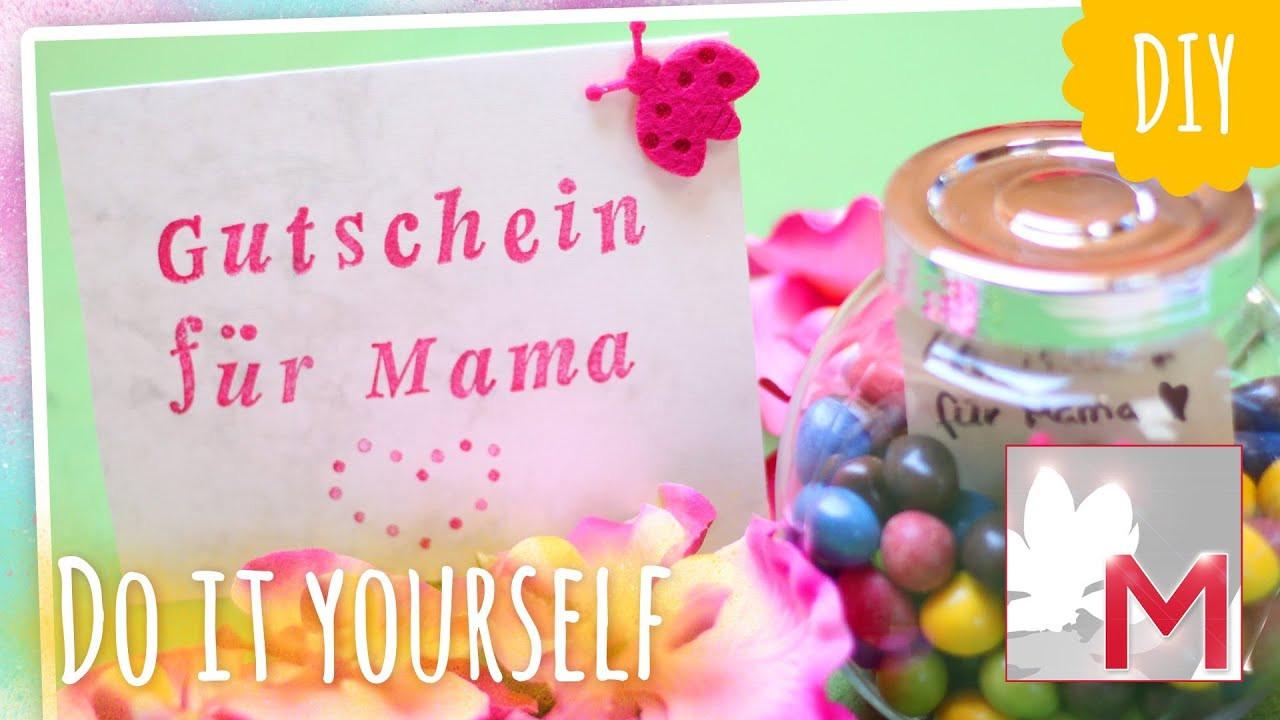 Muttertag Diy  DIY kreative Gutscheine & Karten zum Muttertag