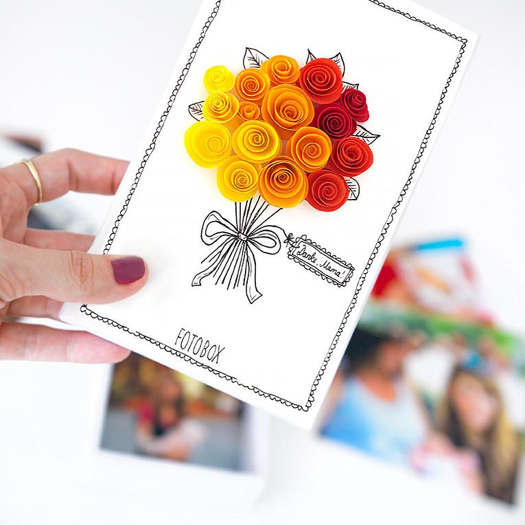 Muttertag Diy  Basteln einer DIY Fotobox Geschenkidee zum Muttertag