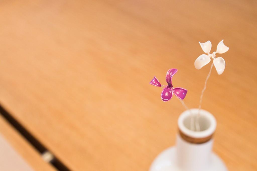 Muttertag Geschenke Selbst Gemacht  Selbstgemacht Drahtblumen als Geschenk zum Muttertag