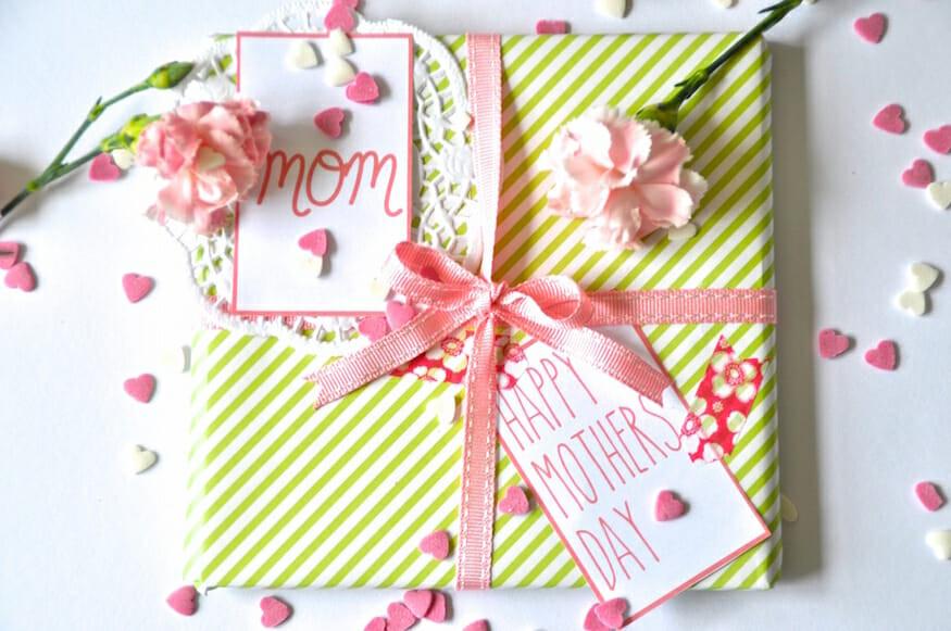 Muttertag Geschenke Selbstgemacht  Geschenkverpackung zum Muttertag Frl Selbstgemacht