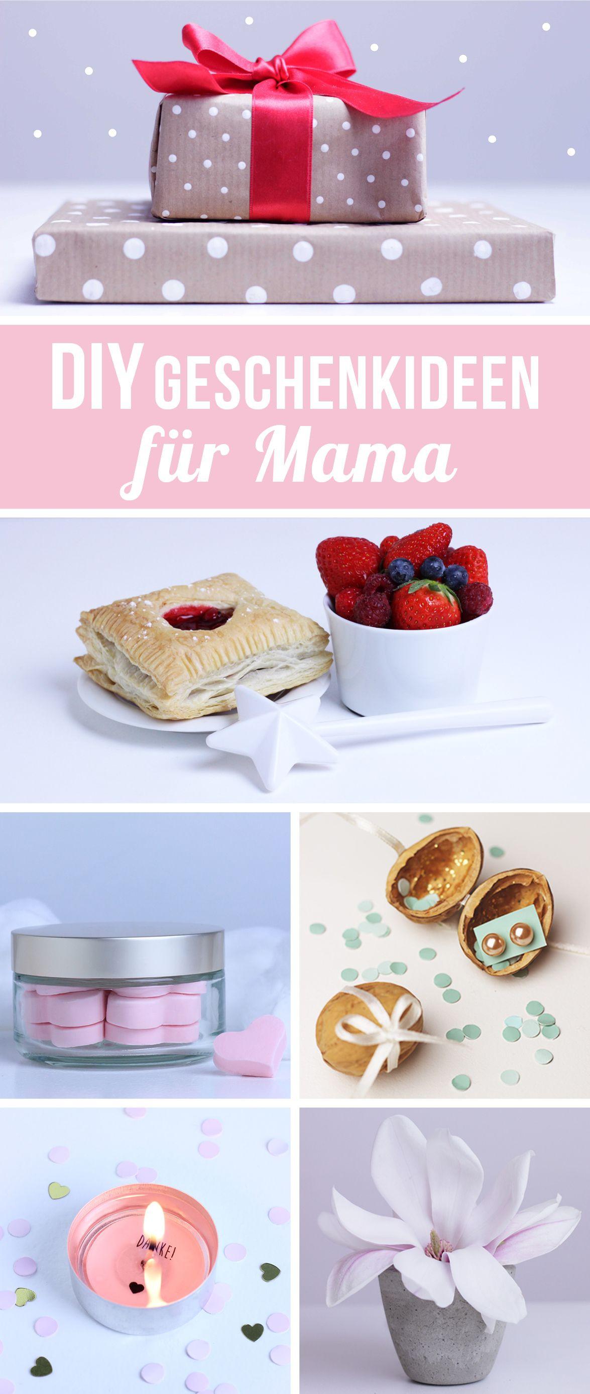 Muttertag Geschenke Selbstgemacht  Muttertagsgeschenk basteln DIY Muttertagsgeschenk