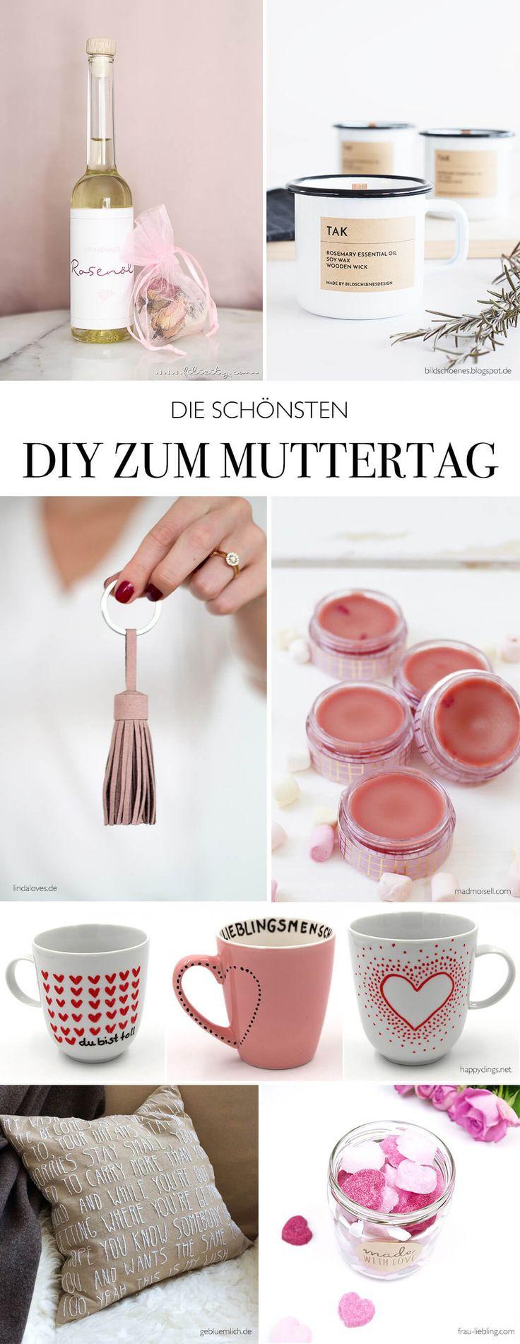 Muttertag Geschenke Selbstgemacht  25 best ideas about Basteln Zum Muttertag auf Pinterest