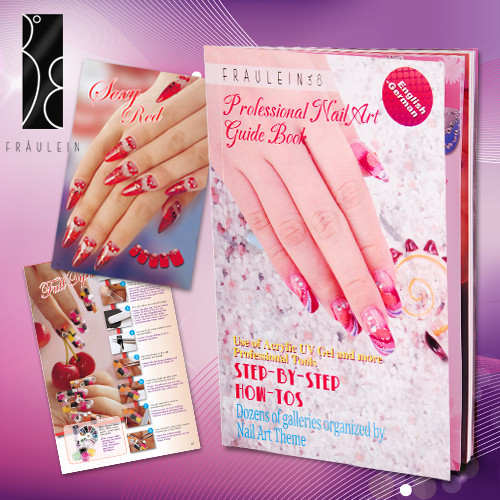 Nageldesign Buch  Fräunlein38 Profi Nailart Buch Design Step for Step