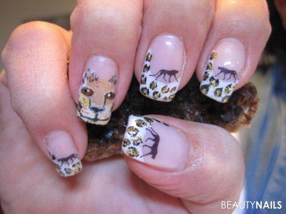 Nageldesign Leo  Leopard Nageldesign