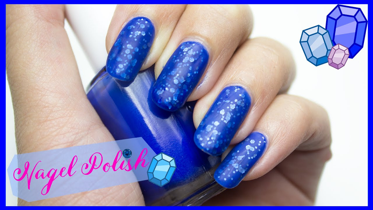 Nageldesign Matt Glitzer  Matt Jelly Sandwich Nageldesign