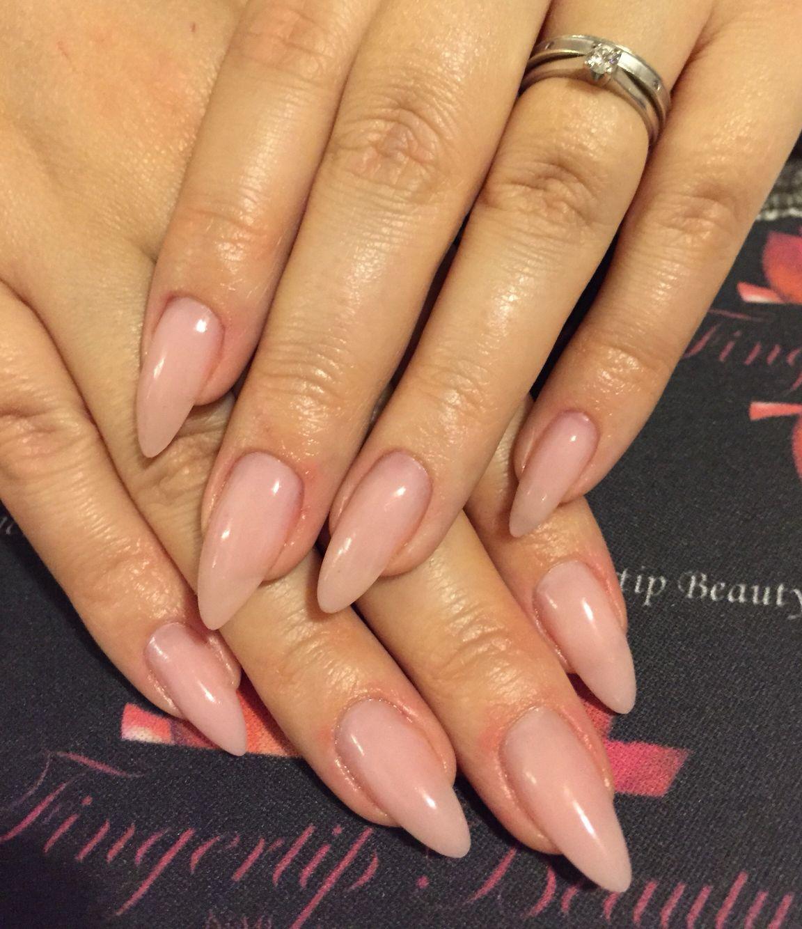 Nageldesign Natürliche Nägel  Natural gel overlays nails Nails