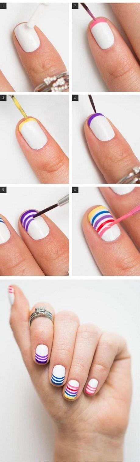 Nageldesign Selber Machen Mit Nagellack Für Anfänger Deutsch  Leichte nägel zum selber machen