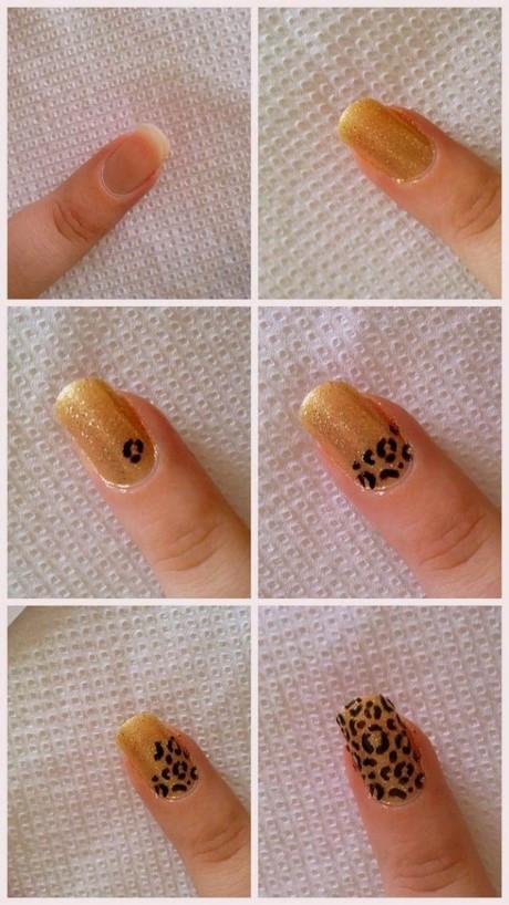 Nageldesign Selber Machen Mit Nagellack Für Anfänger Deutsch  Nagellack muster zum selber machen für anfänger