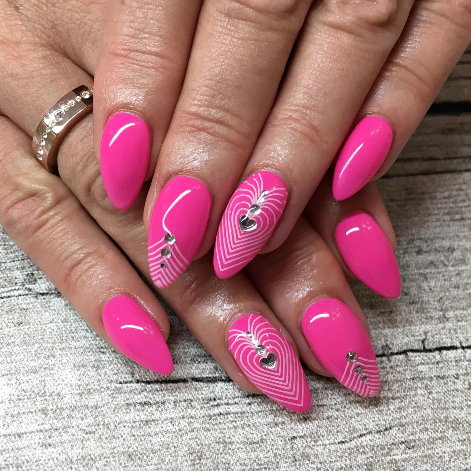 Nageldesign Sommer Neon  Nail Art Inspiration 2 Fashionladyloves