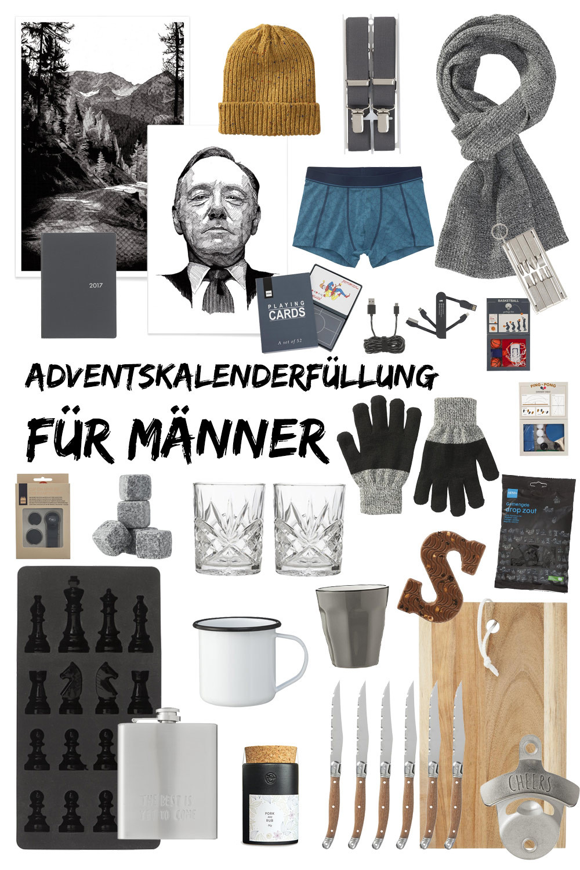 Nikolaus Geschenke Für Männer  Adventskalenderfüllung für Männer kleine Geschenkideen u
