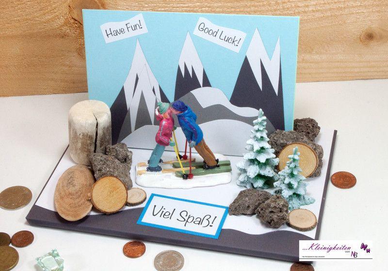 Nikolaus Geschenke Für Männer  Gutscheine Ski Karte Winter Urlaub für Gutscheine o