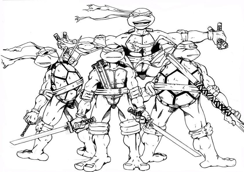 die 20 besten ideen für ninja turtles ausmalbilder  beste