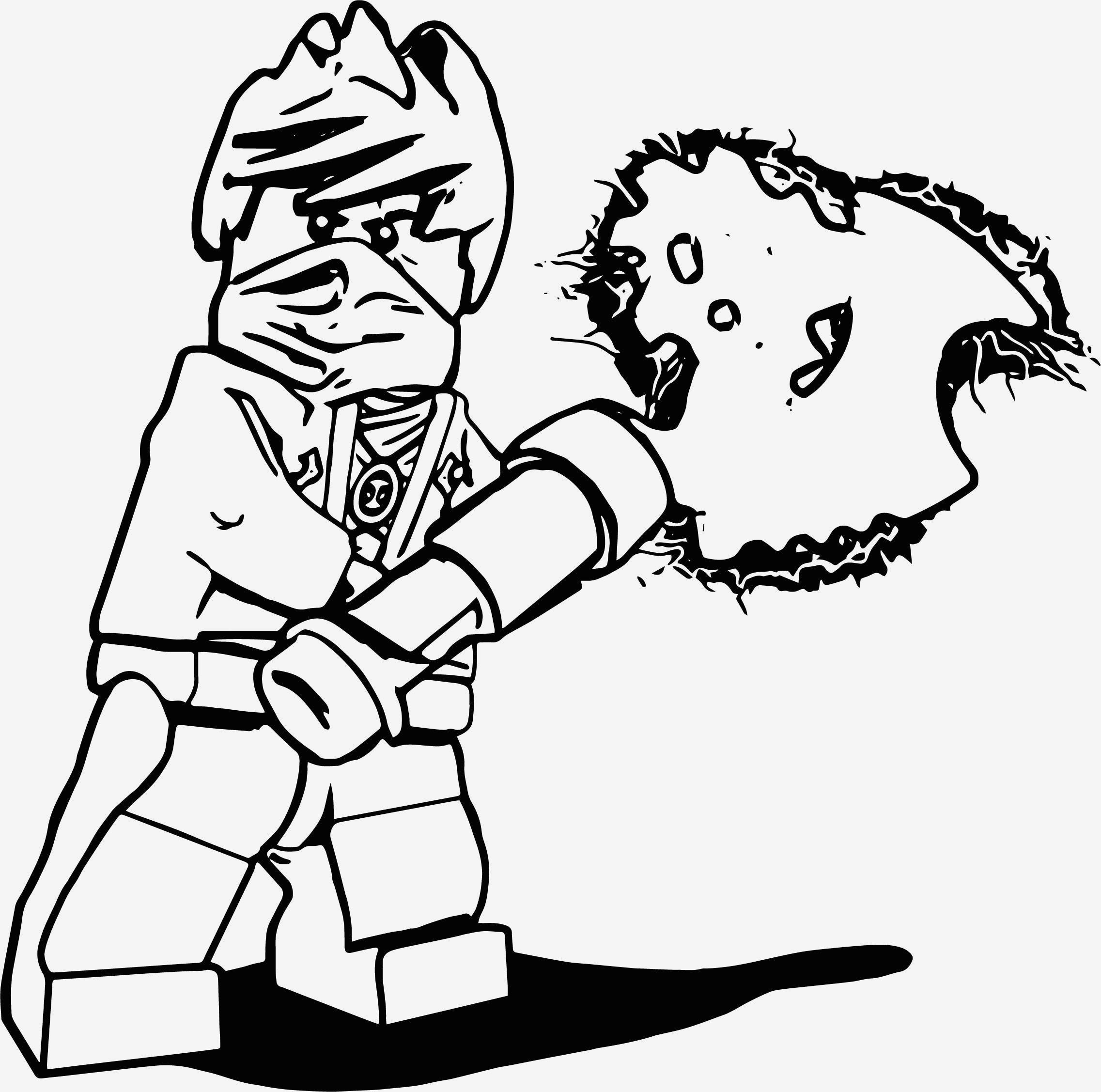 die besten ideen für ninjago ausmalbilder kai  beste