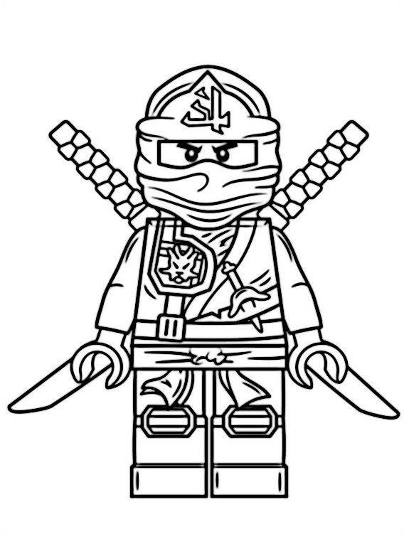 die besten ideen für ninjago lloyd ausmalbilder  beste