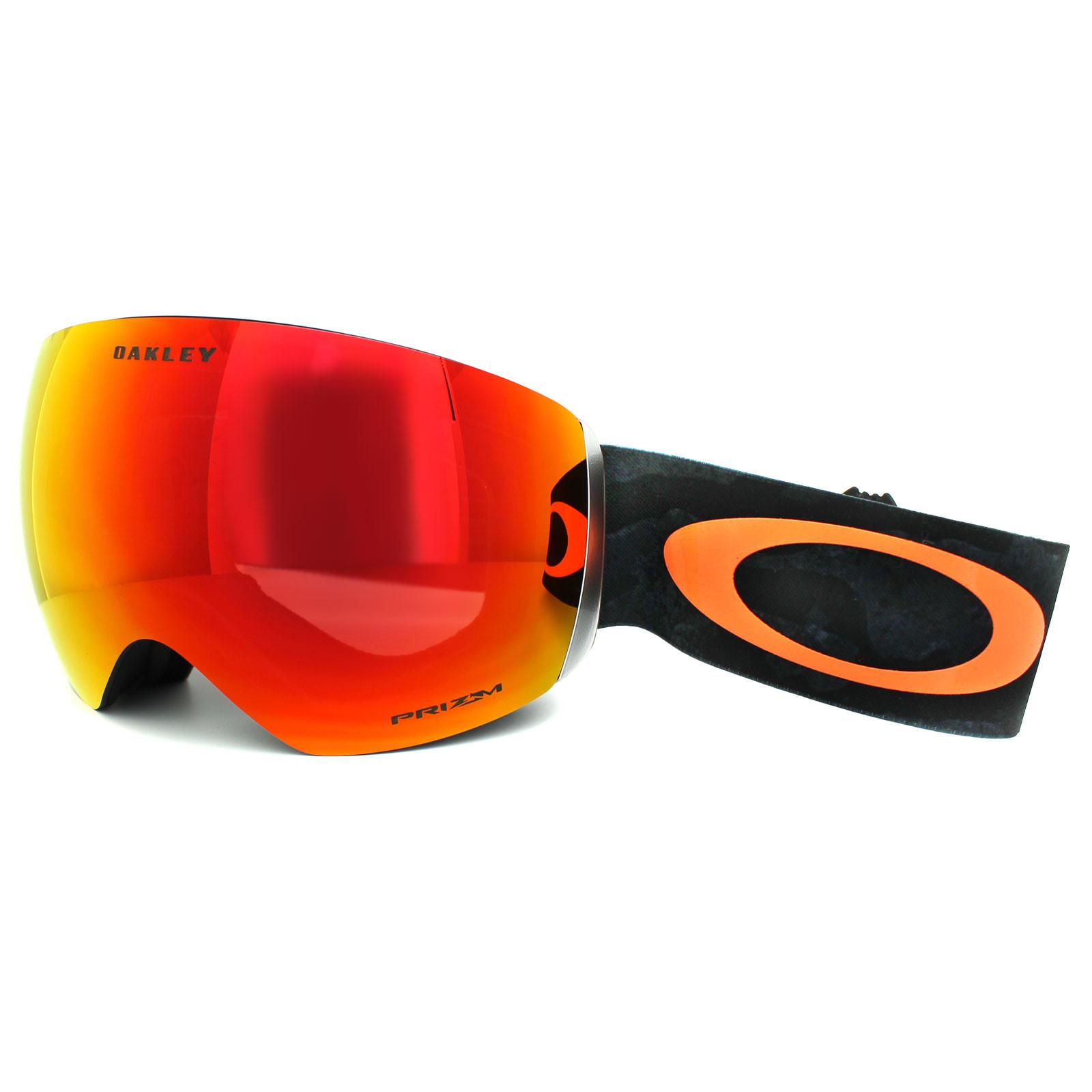Oakley Flight Deck  Oakley Ski Snow Goggles Flight Deck OO7050 24 Camo Orange