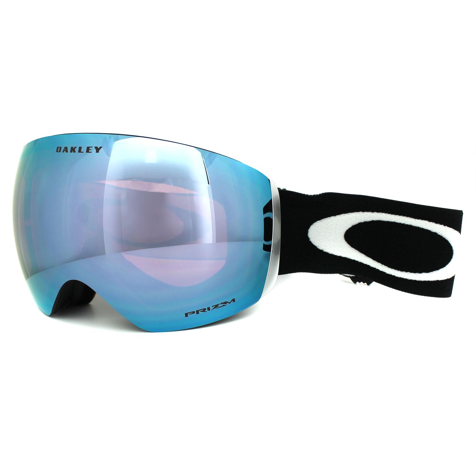 Oakley Flight Deck  Oakley Ski Goggles Flight Deck OO7050 20 Matt Black Prizm