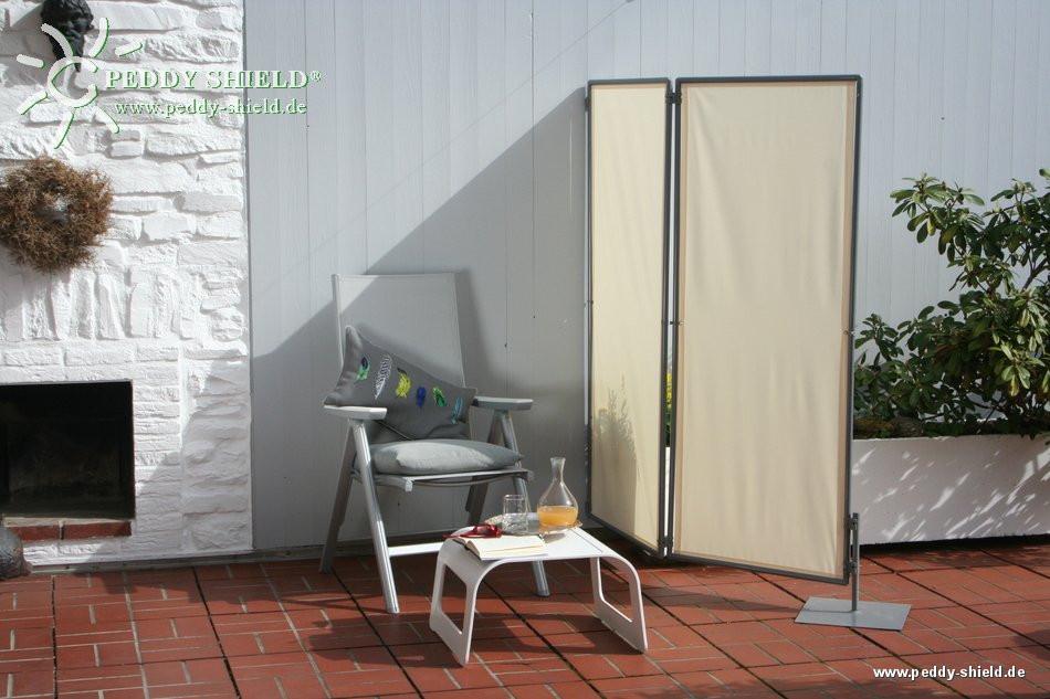 Paravents Für Den Garten  Sichtschutz Paravent Sichtschutz mobil für den Garten