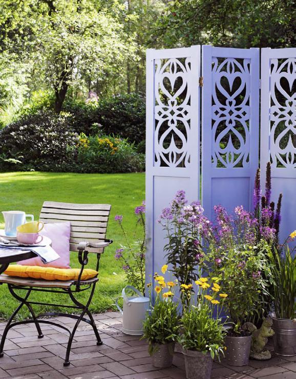 Paravents Für Den Garten  Sichtschutz für den Garten Möglichkeiten und Tipps