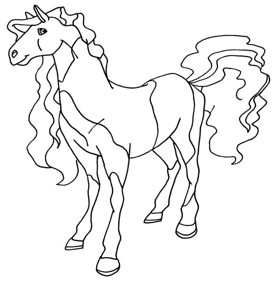 20 ideen für pferde ausmalbilder horseland  beste
