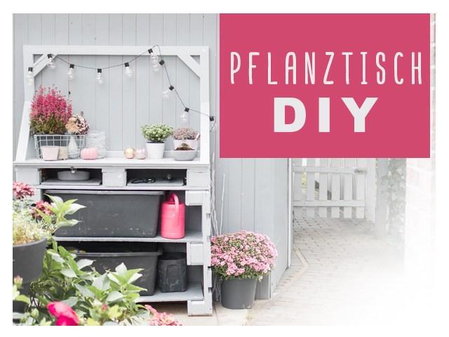 Pflanztisch Diy  delari DIY & nähen