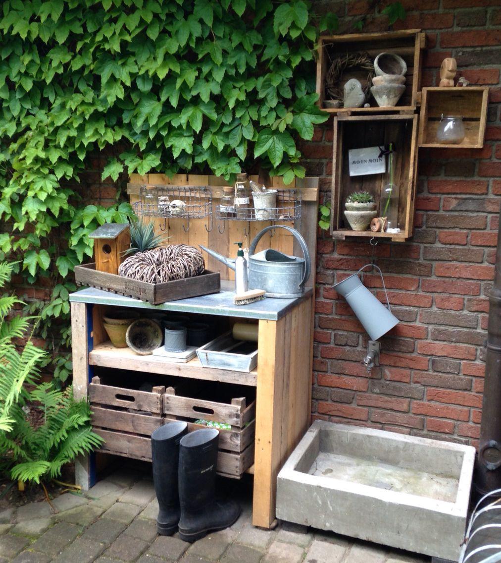 Pflanztisch Diy  DIY Pflanztisch DIY Plant tafel [DIY UPCYCL]
