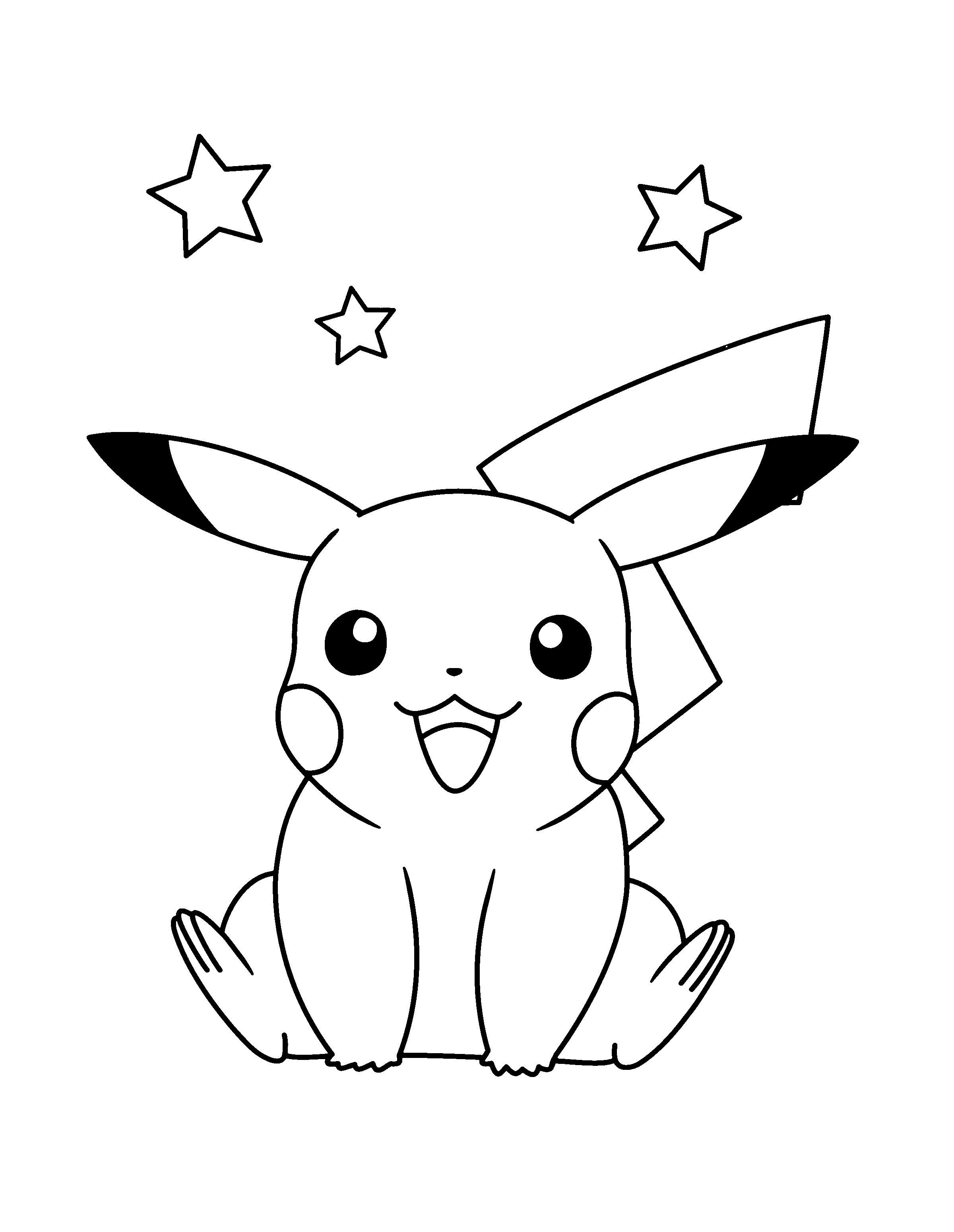 20 ideen für pikachu ausmalbilder - beste wohnkultur