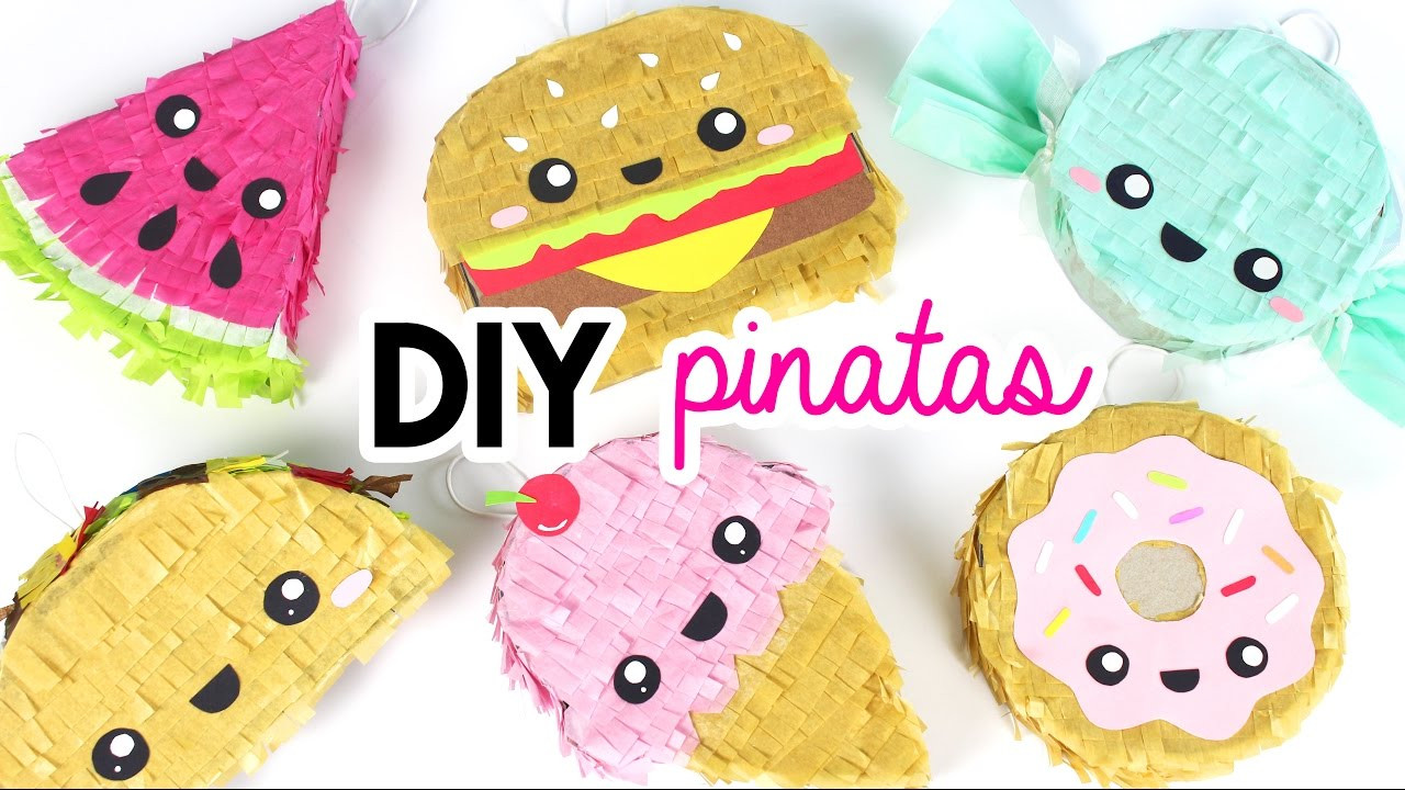 Pinata Diy  How to Make DIY Mini Pinatas 💖