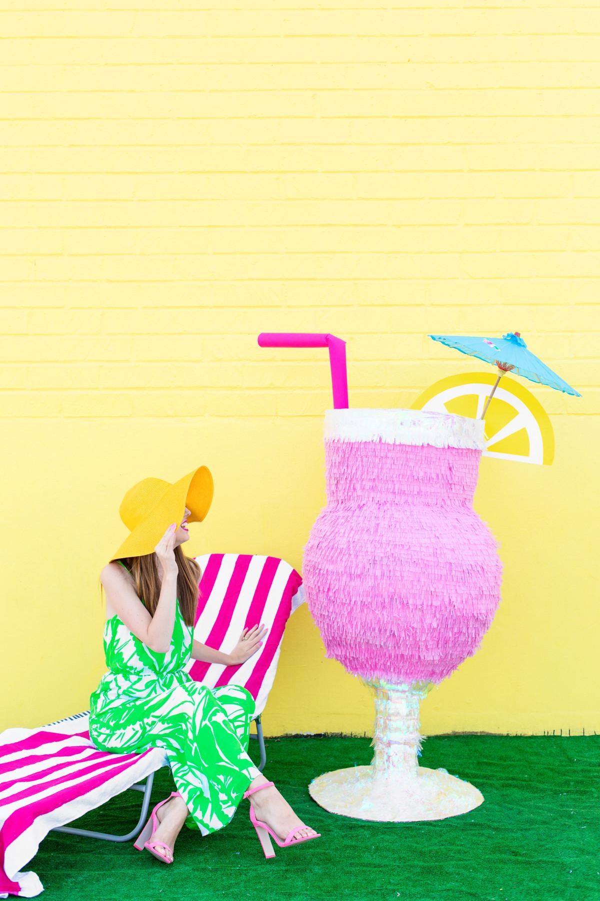 Pinata Diy  DIY Tropical Drink Piñata Studio DIY