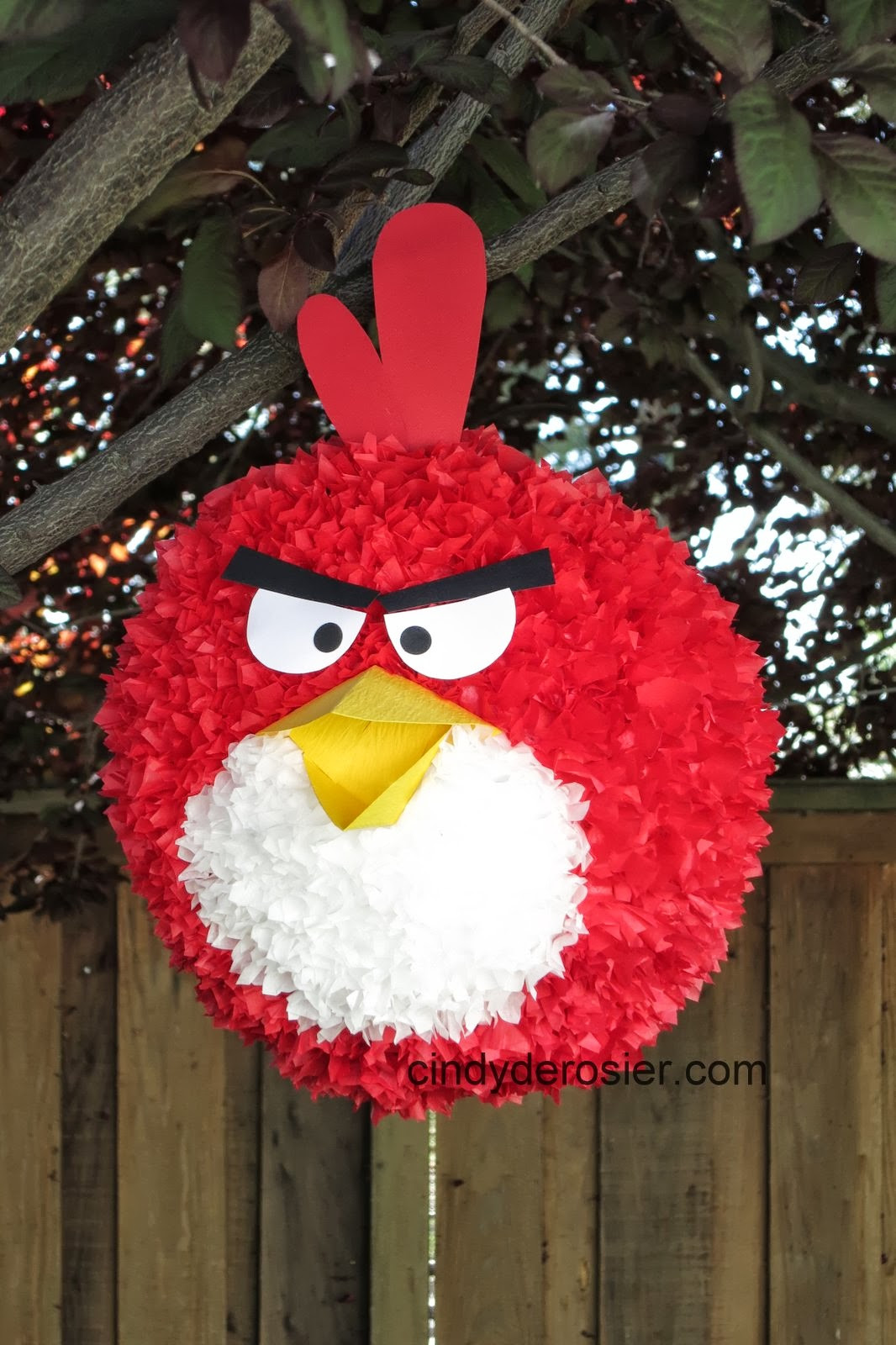 Pinata Diy  Cindy deRosier My Creative Life DIY Angry Bird Piñata
