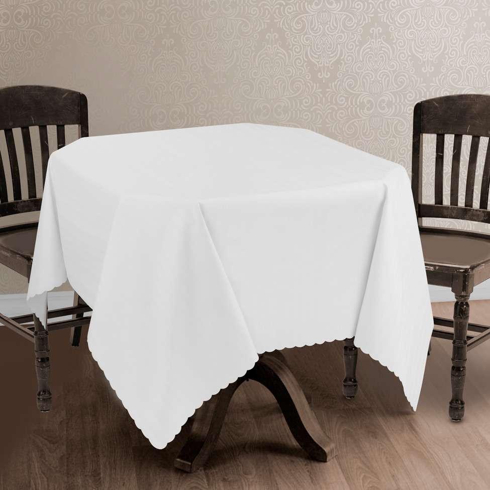 Polsterbett 1 40x2 00  Toalha de Mesa Impermeável Branca 1 40x2 00