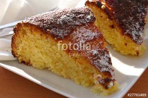 """Portugiesischer Kuchen  """"Portugiesischer Kuchen"""" Stockfotos und lizenzfreie Bilder"""