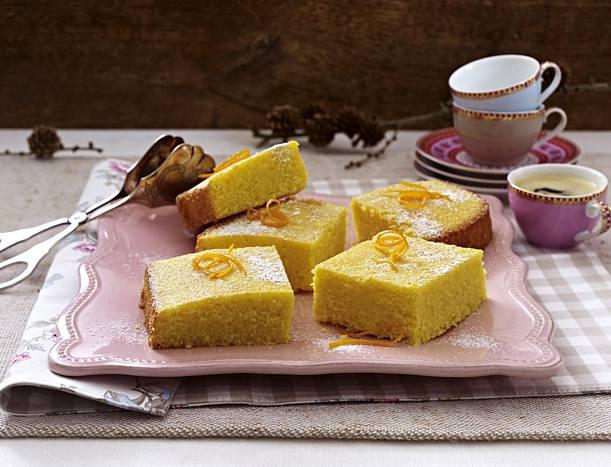 Portugiesischer Kuchen  Portugiesischer Maisgrieß Kuchen Rezept